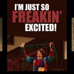 So excited
